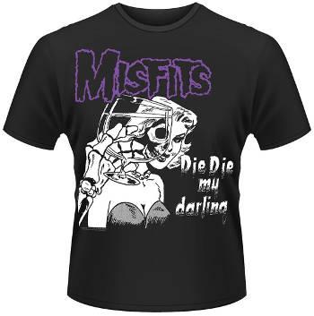 Misfits - Die Die (Black/White) T Shirt
