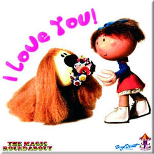 Magic Roundabout: Dougal &Florence - Fridge Magnet