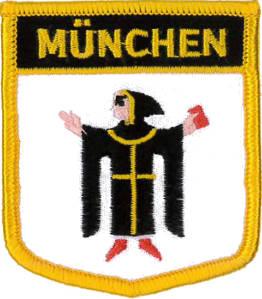 Munich Shield Patch 7cm x 6cm