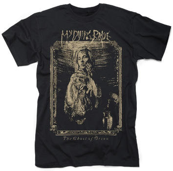 My Dying Bride - The Ghost of Orion Woodcut T Shirt