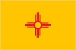 New Mexico (USA State) Flag 5ft x 3ft