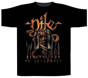 Nile - Black Seeds of Vengence T Shirt