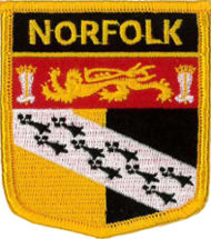 Norfolk Patch 7cm x 6cm