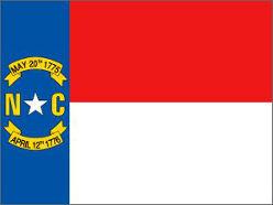 North Carolina (USA State) Flag