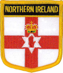 Northern Ireland Patch 7cm x 6cm