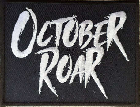 October Roar Logo Embroidered Patch