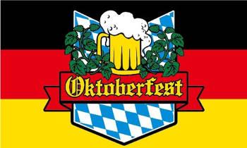 Oktoberfest flag 5ft x 3ft