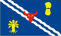 Oxfordshire County Flag 5ft x 3ft
