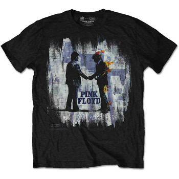 Pink Floyd Men's Tee: Wish You Were Here Painting