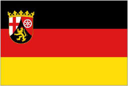 Rheinland-Pfalz (Germany) Flag 5ft x 3ft