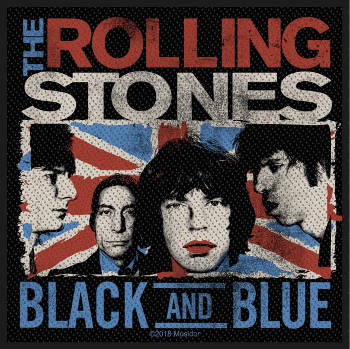 Rolling Stones - Black and Blue Patch
