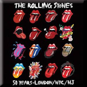 Rolling Stones 50 years Fridge Magnet