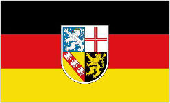 Saarland (German) Flag 5ft x 3ft