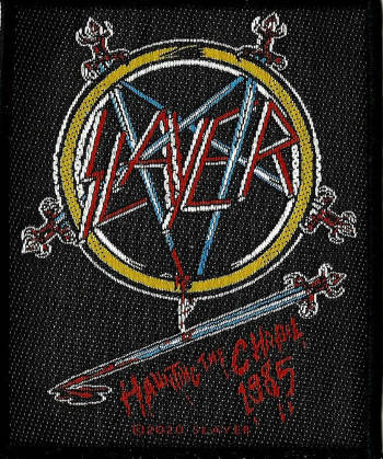 Slayer - Haunting The Chapel 1985 Patch