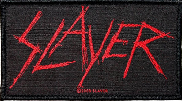 Slayer - Scratched Logo Patch