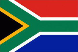 South Africa Large Flag