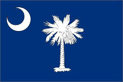 South Carolina (USA State) Flag