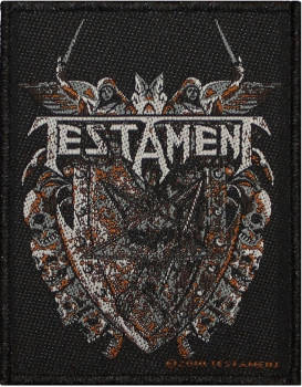 Testament Shield Patch 8cm x 10cm
