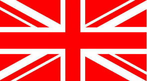Red Union Jack flag 5ft x 3ft