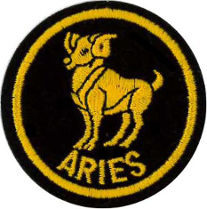 Zodiac - Aries Patch