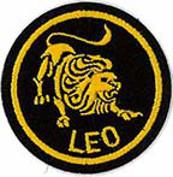 Zodiac - Leo Patch