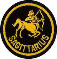 Zodiac - Sagittarius Patch