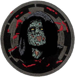 Darth Sidious Zombie Embroidered Patch